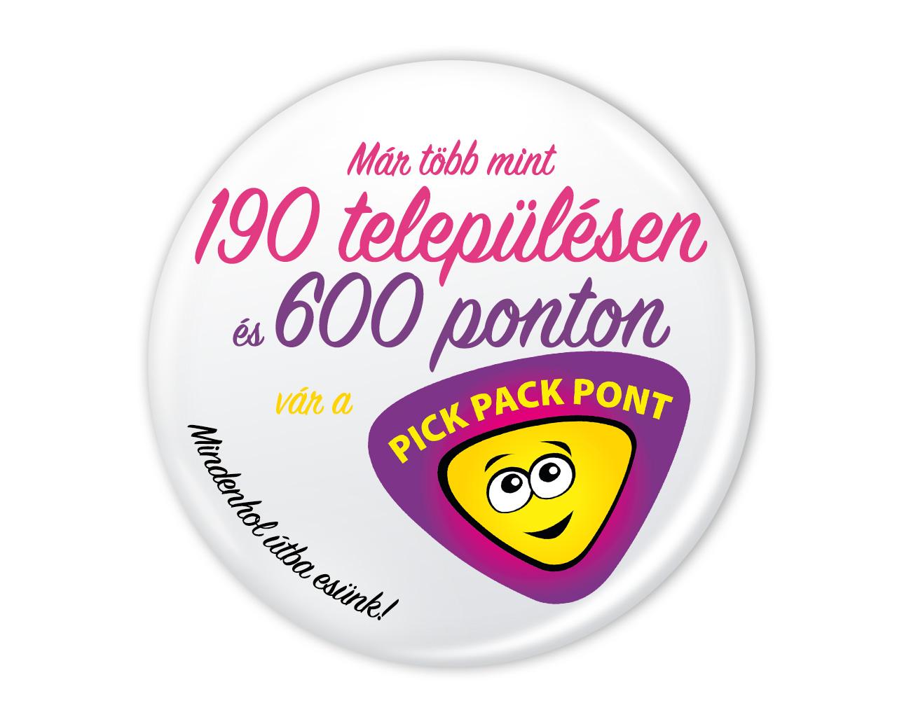 Pick Pack Pont - Már több mint 190 településen és 600 ponton